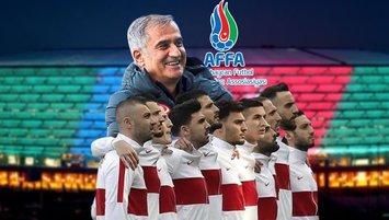 Azerbaycan'dan A Milli Takım'ımıza büyük jest! Seyirci...