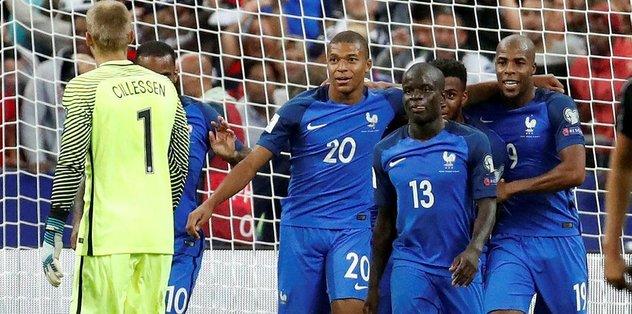 Hollanda, Fransa'da dağıldı!