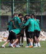 Timsah'ta Ankaragücü maçı hazırlıkları sürdü