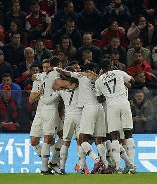 Arnavutluk 0-2 Fransa | MAÇ SONUCU (ÖZET)