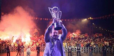 MKE Ankaragücü şampiyonluğu kutladı