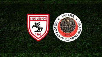 Samsunspor - Gençlerbirliği maçı ne zaman, saat kaçta?