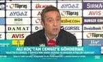 Ali Koç'tan Mustafa Cengiz'e: İnşallah adam bu yaşta yalan söylemiyordur!