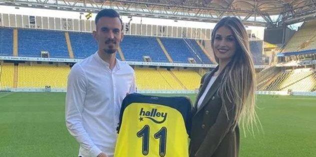 Son dakika spor haberleri: Fenerbahçeli Mergim Berisha'nın eşi Vesa Vllasaliu'dan eleştirilere se...