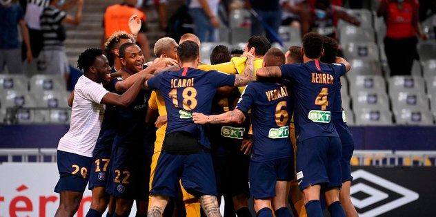PSG 6-5 O. Lyon (pen.) | MAÇ SONUCU - Fransa Ligue 1 -