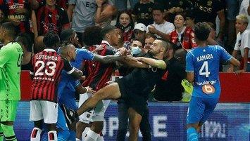 Olaylı Nice-Marsilya maçının cezaları belli oldu