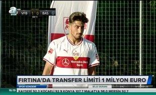 Fırtına'da transfer limiti 1 milyon Euro