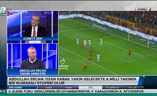 Abdullah Ercan: Ozan Kabak yakın gelecekte A Milli takımın bir numaralı stoperi olur