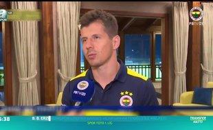 Emre Belözoğlu: Ersun Hoca'nın antrenmanları biraz ağırdır