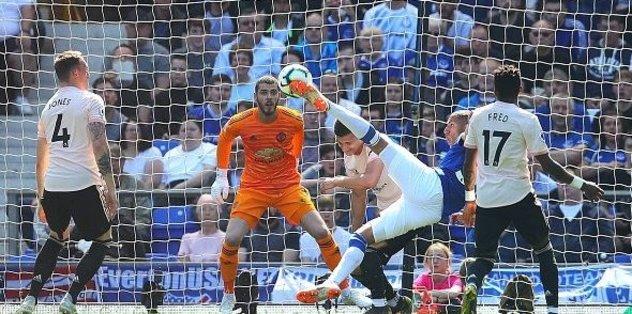 Everton 4-0 Manchester United | MAÇ SONUCU - Maç Özeti - Cenk Tosun...