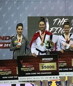 İrem'den altın, Nafia'dan bronz madalya