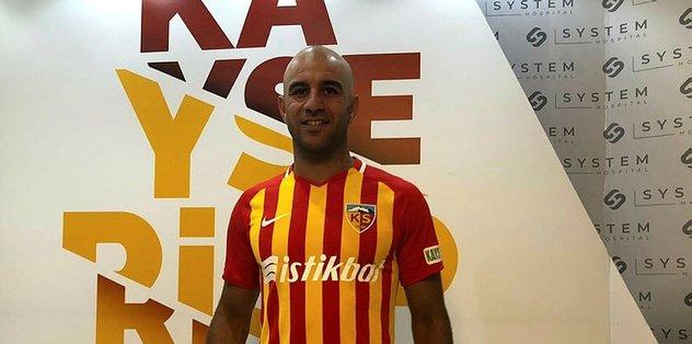 Kayserispor Abdennour ile sözleşme imzaladı