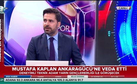 Mustafa Kaplan Ankaragücü'ne veda etti