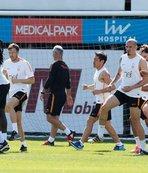 Galatasaray, Göztepe maçının hazırlıklarına başladı
