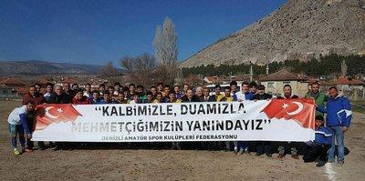 2700 amatör maçta Mehmetçik'e destek