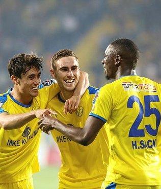 MKE Ankaragücü 3-1 D.G Sivasspor | MAÇ SONUCU