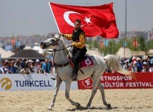 Etnospor Kültür Festivali: Ok Yaydan Çıkıyor