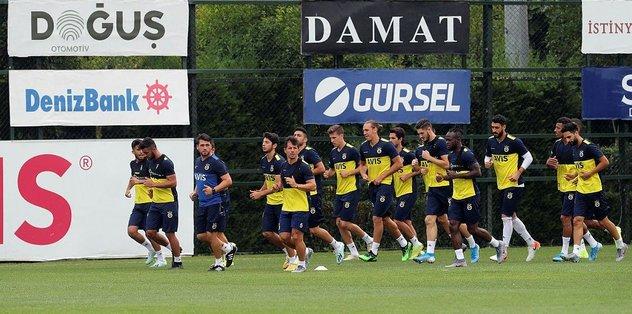 Fenerbahçe pres ve taktik çalıştı