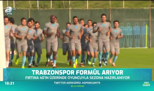 Trabzonspor formül arıyor