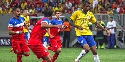 Talisca'lı Brezilya'nın Almanya maçı hangi kanalda?