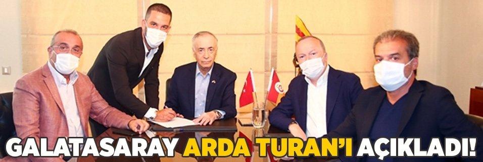 Galatasaray Arda Turan'ı açıkladı!