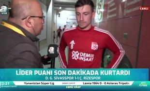 Mert Hakan Yandaş'ın maç sonu açıklamaları