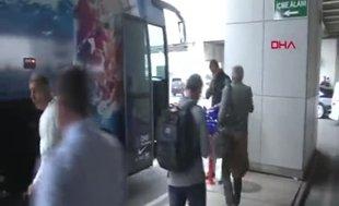 Fenerbahçe Beko nereden nereye! Havalimanında şok görüntü...