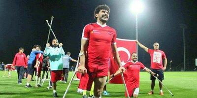 Ampute Milli Takımımız, Konyaspor'un konuğu olacak