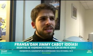 Fransa'dan Jimmy Cabot iddiası