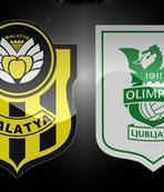 Yeni Malatyaspor - Olimpija Ljubljana | CANLI