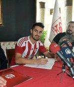 Sivasspor Hugo Vieira ile sözleşme imzaladı
