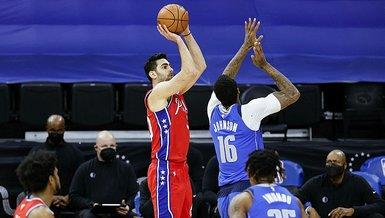 Philadelphia 76ers kazandı! Furkan Korkmaz 9 sayı attı