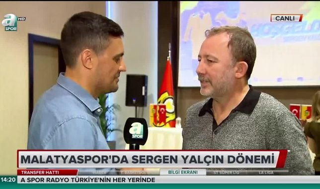 Sergen Yalçın açıkladı! Sözleşmesinde Beşiktaş maddesi...