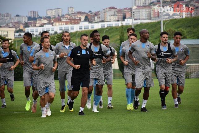 Trabzonspor'un Sparta Prag 11'i belli oldu