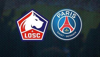 Lille - PSG maçı CANLI | Fransa Süper Kupa