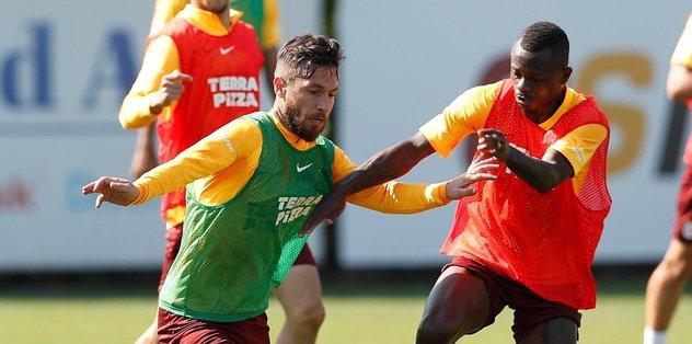 Galatasaray Sivasspor hazırlıklarını sürdürdü
