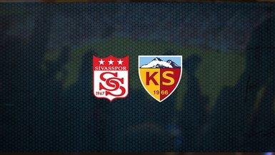 Sivasspor - Kayserispor maçı ne zaman, saat kaçta ve hangi kanalda canlı yayınlanacak? | Süper Lig