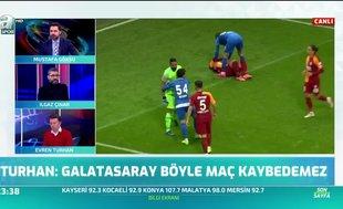 """Evren Turhan: """"Tuzlaspor'a karşı iki tane pozisyon bulamıyorlarsa bıraksınlar bu işi"""""""