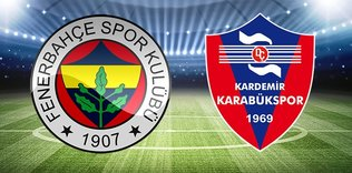 CANLI   Fenerbahçe - Karabükspor
