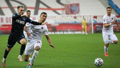 Trabzonspor Hatayspor 1-1 (MAÇ SONUCU - ÖZET)