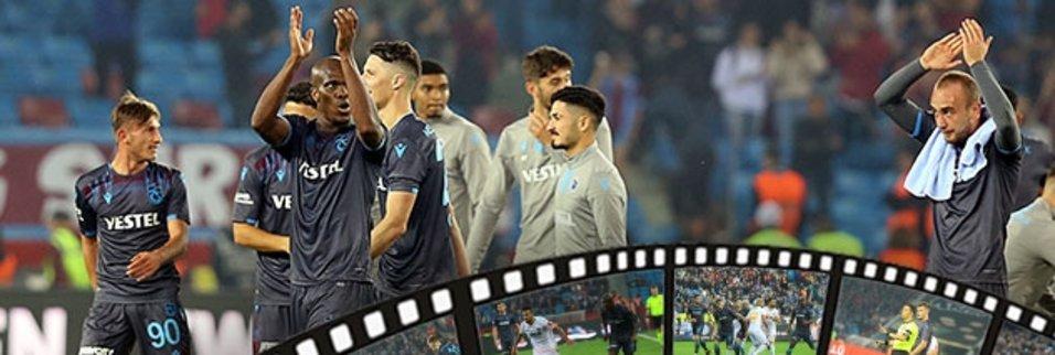 İşte Trabzonspor - Alanyaspor maçının sineması