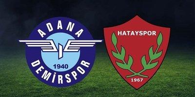 Hatayspor 3-2 Adana Demirspor | MAÇ SONUCU - Hatayspor finalde!