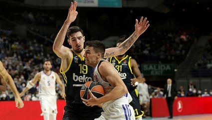 Fenerbahce Beko lose to Real Madrid in away EuroLeague game