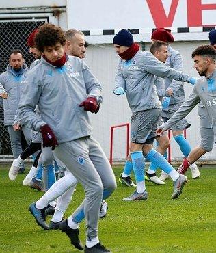 Trabzonspor Denizlispor maçı hazırlıklarını sürdürdü