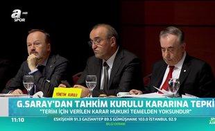 Galatasaray'dan Tahkim Kurulu'nun kararına tepki