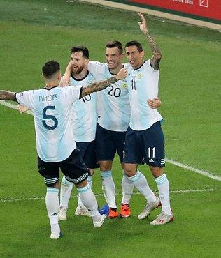 Arjantin yarı finalde Brezilya'nın rakibi oldu