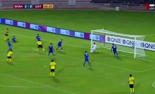 Samuel Eto'o, Qatar SC formasıyla ilk golünü attı