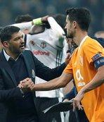 Beşiktaş'ı kutladı