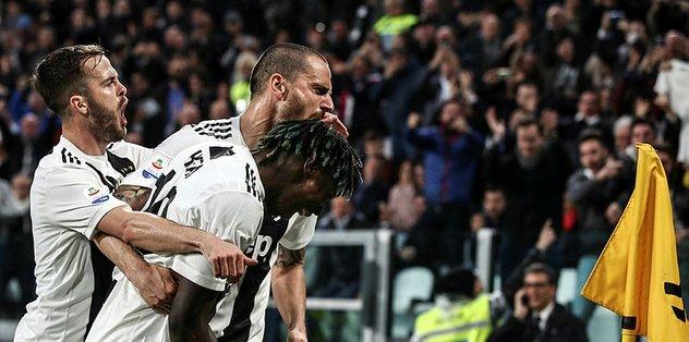 Juventus Milan'ı ikinci yarıda geçti