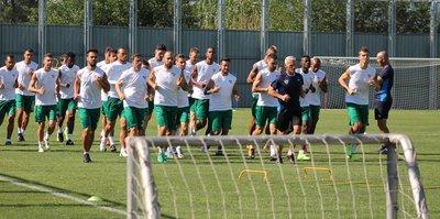Bursaspor'da hazırlıklar sürdü